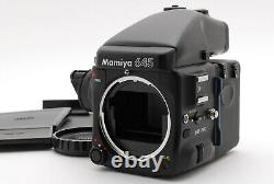 UNUSED in BOXMamiya 645 PRO Body AE Prism Finder Film Back withStrap From Japan