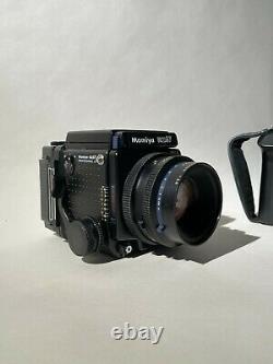 USA (Near Mint) Mamiya RZ67 Pro II + Sekor 110mm lens + hand grip +120 film back