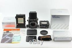 Unused in Box Mamiya RZ67 Pro II body 120 Film Backs Body with strap JAPAN