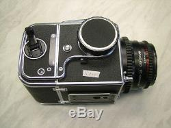 Used Hasselblad 500c/m + A12 Back + 80mm F2.8 Carl Zeiss