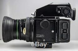 ZENZA BRONICA ETR S, Lens 75mm F2.8 & 150mm F3.5, Polaroid back, 120 Film back