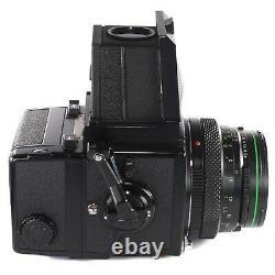 Zenza Bronica ETRS with Zenzanon EII 75mm f2.8 Waist Level Finder 120 Film Back