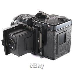 Zenza Bronica ETRSi with Zenzanon EII 75mm f2.8 Waist Level Finder 120 Film Back