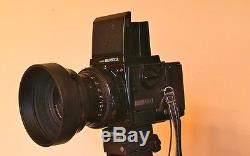 Zenza Bronica Medium Format Camera System With Interchangeable Lenses & Backs