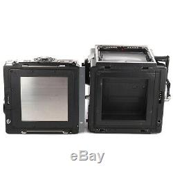 Zenza Bronica SQ-A 6x6 with Zenzanon PS 80mm Waist Level Finder SQ 120 Film Back