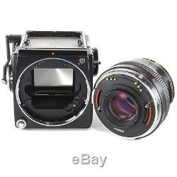 Zenza Bronica SQ-A 6x6 with Zenzanon P 80 +Waist Level Finder + 120 SQ Film Back