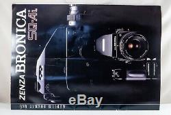 Zenza Bronica SQ-A 80mm 150mm lenses, 120 220 backs, finder, focus screens, KIT