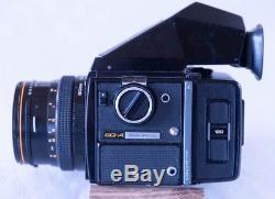 Zenza Bronica SQ-A Medium Format Camera with 80mm f2.8, 120 Back, Std. Prism