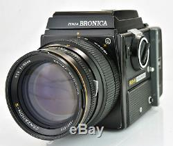 Zenza Bronica SQ-A with Zenzanon-S 150mm F3.5 WLF and 120 Back