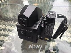 Zenza Bronica SQ-Am 6x6 Camera + Zenzanon-S 80mm + 120 Back + Viewfinder