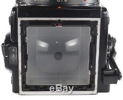 Zenza Bronica SQ-B 6x6 + Zenzanon PS/B 80mm + WLF + 120 SQ/B Film Back + Crank