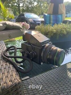 Zenza bronica ETRS with prism finder, 120 film back and 75mm EII lens TESTED